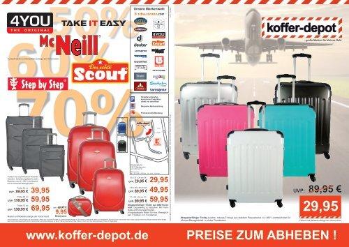 Preise Zum Abheben Koffer Depot