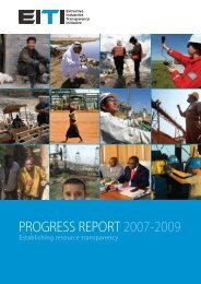 Progress Report 2007-2009 - EITI