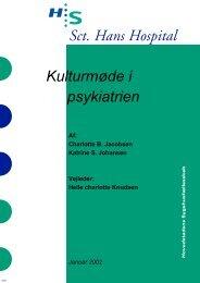 Kulturmøde i psykiatrien - Region Hovedstadens Psykiatri