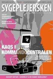 KAOS I KOMMANDOCENTRALEN - Dansk Sygeplejeråd