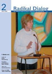 Radikal Dialog - Radikale Venstre