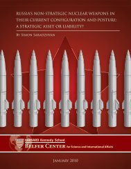 russia's non-strategic nuclear weapons in their current configuration ...