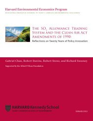 The SO Allowance Trading System and the Clean Air Act ...
