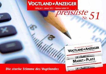 Agb/Preisliste öffnen oder speichern (5 MB) - Vogtland-Anzeiger