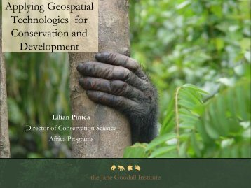 Applying Geospatial Technologies for Conservation and Development