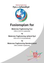 Fusionsplan for Malernes Fagforening Fyn - Malerforbundet