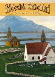 Nr.1 - Mars 2010 - 58. årgang - Gildeskål menighet - Den norske kirke