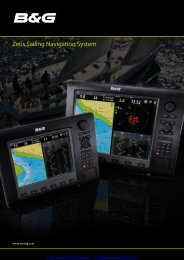 Zeus Sailing Navigation System - Busse Yachtshop