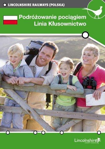 Adobe PDF - Poacher Line - Travelling by Train Guide - Polish