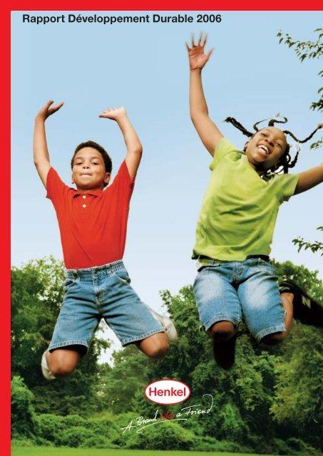 Rapport Développement Durable 2006 - Henkel