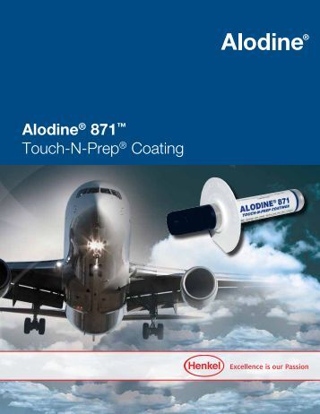 Alodine® 871™ Touch-N-Prep® Coating - Henkel