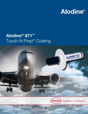 Alodine® 871™ Touch-N-Prep® Coating - Henkel