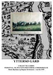 gårds og personalhistorie (1999) PDF - Yttersø Gård