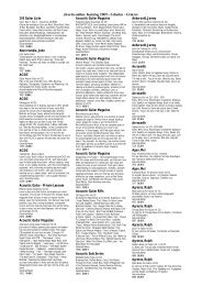 chords online Katalog 2009 - Songbooks Bläser