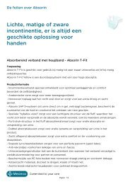 Productleaflet - Product Catalogus - Medeco