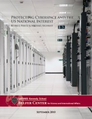 Protecting Cyberspace and the US National Interest - Belfer Center ...