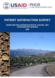 patient satisfaction survey - Center for Health Services Research ...