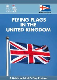 Flying flags in the United Kingdom - A guide to Britain's flag protocol