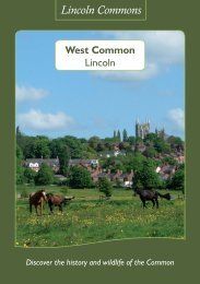Adobe PDF - West Common - Lincolnshire County Council