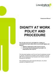Dignity at Work - Policy and Procedure