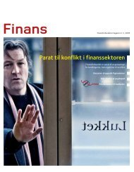 Parat til konflikt i finanssektoren - Union in Nordea