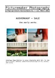 Picturemaker Photography - Kulturbüro