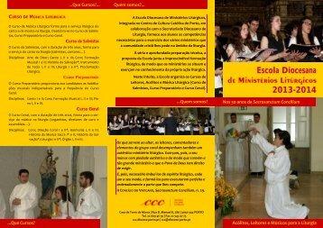 Escola Diocesana 2013-2014 - Centro de Cultura Católica do Porto