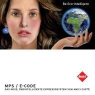 Systembroschüre MPS / e-Code - Amici