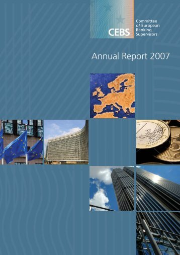 7589 Annual Report-08:CEBS Report - European Banking Authority ...