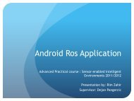 Android Ros Application