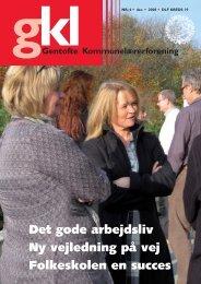Det gode arbejdsliv - Gentofte Kommunelærerforening