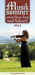 Programmheft als PDF downloaden - Musiksommer zwischen Inn ...