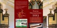 Harter Orgelkonzerte - Wallfahrtskirche Hart