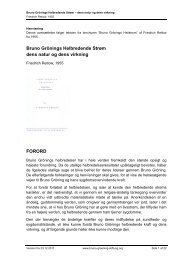 Friedrich Retlow: Bruno Grönings Helbredende Strøm – dens natur ...