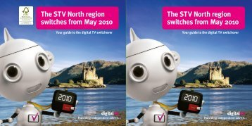 The STV North region switches from May 2010 The STV North ...