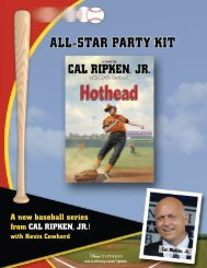 A new baseball series from CAL RIPKEN, JR.!