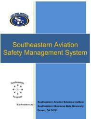 Southeastern Aviation Safety Management System