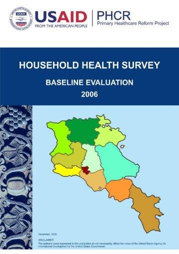 household health survey - CHSR