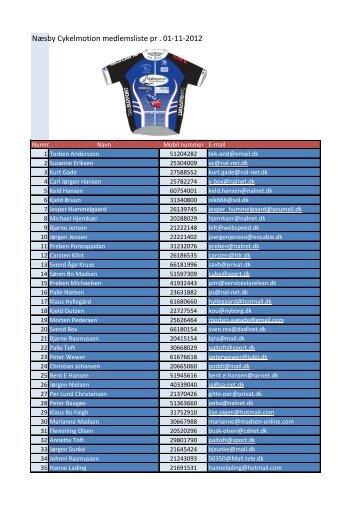 Download medlemslist pr 01-11-2012 i pdf.
