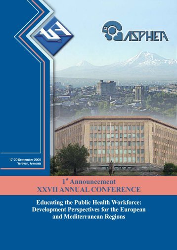 Download the Conference Brochure - CHSR