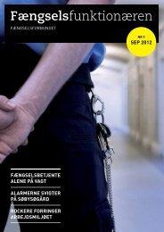 Fængselsfunktionæren - Fængselsforbundet