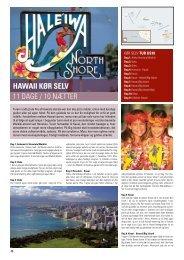 Hawaii Kør selV 11 DAgE / 10 NæTTER - Orkiderejser