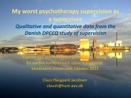 Supervisors - Stockholms universitet