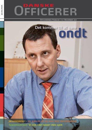 Det kommer til at gøre - Hovedorganisationen af Officerer i Danmark
