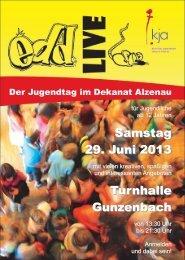 Samstag 29. Juni 2013 Turnhalle Gunzenbach - edd – entdecke ...