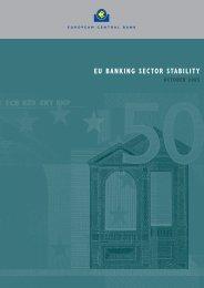 EU banking sector stability, October 2005 - European Central Bank