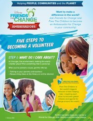 Want to make a difference in the world? Join Friends for Change ...