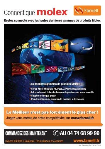 Connectique Molex Pages 01-20 (600k) - Farnell
