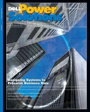 Designing Systems to Preserve Business Data ... - Ftp.dell.com