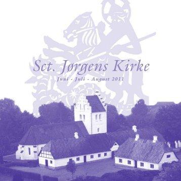 Juni - Juli - August 2011 - Sct Jørgens Kirke